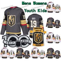 ingrosso james neal jersey-100 ° anniversario Reilly Smith Vegas Golden Knights Marc-Andre Fleury Oscar Lindberg James Neal Colin Miller Clayton Stoner Maglie da hockey