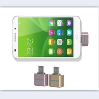 mini adaptateur otg achat en gros de-Mini Micro USB À USB OTG Adaptateur 2.0 Convertisseur Pour Android Adaptateur Caméra MP3 Convertisseur OTG Câble Pour Samsung Xiaomi HTC