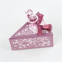 ingrosso boxed christmas cards-DiyArts Candy Box Muore New 2018 Regalo Metallo Taglio Scrapbooking Artigianato Muore Metallo Die Card Ablum Sacchetto Regalo Di Natale
