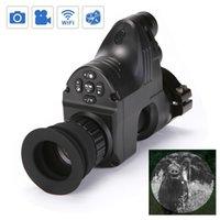 ingrosso telecamere di visione notturna di caccia-PARD NV007 Digital Night Vision Scope Telecamere 5w IR a raggi infrarossi Night Vision Caccia Scope Night Rifle Vista ottica con 1080P Video e foto