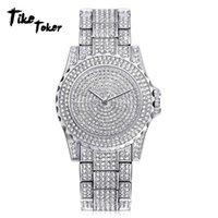 vogue quarzuhr männer großhandel-Herrenuhren Man Diamond Watch Clock Analog Quarz Vogue Armbanduhren Geschenke 2018 Luxus Herrenuhren Clock Uhren