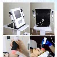 saubere maschine ultraschallreiniger großhandel-Tragbare Sauerstoff-Gesichtsfalten-Abbau-Maschinen-CO2-Blasen-tiefe Reinigung Rf-Ultraschallschönheits-Maschine XLASH für Salon-Gebrauch