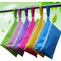Wholesale easter cloth diapers for sale - Group buy Baby Diaper Bags Nappy Stackers Bags Waterproof Diaper Organizer Portable Zipper Infant Stroller Cart Bags Wet Dry Cloth Storage Bag BD0029