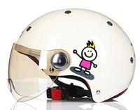 vespa kask xl toptan satış-Yeni bağbozumu Beon motosiklet motosiklet kask Vespa casco capacete açık yüz capacetes motociclistas