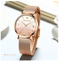 relógios de estilo japonês venda por atacado-Borboleta Moda Ladies Watch Simplicidade estilo Britânico Japonês Núcleo Da Máquina de Aço Cinta De Malha Moda Relógio Das Mulheres