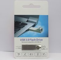 Wholesale flash drive 16gb dhl for sale - 2019 metal Flash Drive GB GB GB GB Memory Stick USB U disk Drives custom logo Retail package free DHL