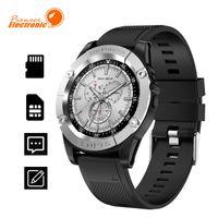 montre iphone achat en gros de-Pour apple smart watch SW98 smartwatch Hommes Support Carte SIM Podomètre Caméra Bluetooth Smartwatch pour Android iPhone PK DZ09 Y1 A1 Montre-Bracelet
