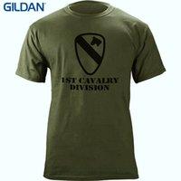 печать цен оптовых-Оптовая скидка печатных круглый мужчины футболка дешевые цена армия 1-й кавалерийской дивизии покорил ветеран футболка