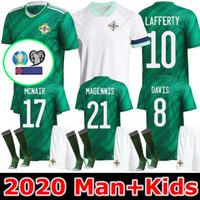 camisetas crianças de futebol de qualidade tailandesa venda por atacado-qualidade 2020 2021 Irlanda do Norte camisas de futebol 2,020 Irlanda do Norte Futebol casa EVANS LEWIS MAN KIDS Man and Kids novo tailandês