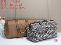 Wholesale weekend bags women resale online - hot fashion Canvas Travel Bags Women Men Large Capacity Folding Duffle Bag Organizer Packing Cubes Luggage Girl Weekend Bag