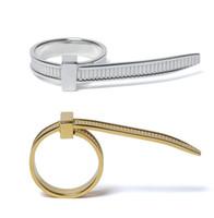 925 ringe einstellbar großhandel-AMBUSH Hip Hop Yilai einfache Persönlichkeit 925 Sterling Silber Ring Nische Mode verstellbaren Ring