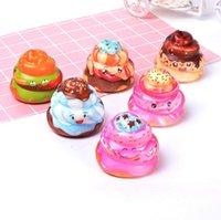 poop spielzeug großhandel-Hot Fashion Cute Squishy Poop Heilung Squeeze Flexible Kinder Spielzeug Geschenk Stressabbau Dekor Freies Verschiffen