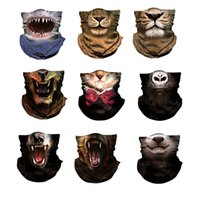 Wholesale protection cycling for sale - Group buy Multiway Outdoor Bandana Men Women D Animal Printing Climbing Hiking Cycling Fishing Windproof UV Protection Halloween