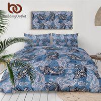 Wholesale elegant floral bedding sets for sale - Group buy BeddingOutlet Elegant Paisley Duvet Cover Beautiful Bohemian Bedding Set Boho Floral Home Textiles Elegant Vintage Bed Cover Set