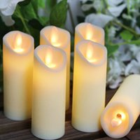 Wholesale wedding electronics for sale - Group buy 3pcs LED Electronic Flameless Candle Candles Lights Battery Operated Party Wedding Birthday Festival Romantic Slight Swing