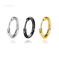 Ohrringe Creolen Neue Mode Knoten Ohrringe Persönlichkeit Dame Ohr Ring Schmuck Großhandel Brincos Grandes Mode Para Mulheres Ohrringe Für Frauen
