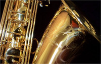 Wholesale brass instrument resale online - YANAGISAWA T Bb Tenor Saxophone Professional Brass Gold Lacquer B Flat Musical Instruments Sax with Case Mouthpiece