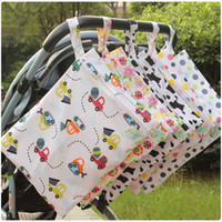 Wholesale baby change diaper bag for sale - Group buy Baby Diaper Bag Waterproof Nappy Stacker Maternity Wet Dry Bags Mommy Storage Stroller Accessories Diaper Changing Kits CCA11833 A