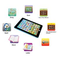 juguetes para niños al por mayor-Juguete de lectura PAD niños Niños Tablet Juguetes educativos de aprendizaje regalo para las muchachas Niños bebés inglés Juguetes
