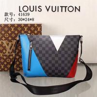 05213e52add4 Wholesale white briefcase men for sale - Louis Vuitton LV Supreme Business Briefcase  Men Leather Handbags
