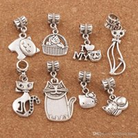 35PCS Tibetan Silver Wave Connector Charms Pendant Crafts Beads Jewelry 26*20MM