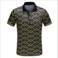 fremde polo großhandel-2019 Außenhandel neue Mode Kurzarm Herren Baumwolle Revers lässig atmungsaktiv Polo-Shirt T-Shirt M-3 High-End-Spot schnelle Lieferung