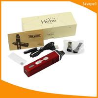 ingrosso visualizza la penna-Hebe Titan 2 titan 1 Starter Kits 2200mah vaporizzatore a base di erbe ecig con display LCD Tempreture Penna elettronica per sigaretta elettronica