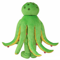 polvo de festa venda por atacado-2019High quality hot Octopus Mascot Costume Holiday Party Vestido Adulto Frete Grátis