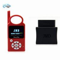 opel anahtar yongası toptan satış-Ücretsiz kargo V7.0 Handy Bebek El-held Araba Anahtarı Kopyalama Oto Anahtar Programcı için 4D / 46/48 Cips Artı JMD Yardımcısı OBD Adaptörü