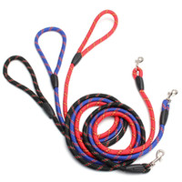 Wholesale personalized dog leashes resale online - Dog Leash Strong Nylon CM Long Colors Pet Safety Walking Training Leash Lead For Small Large Dog Durable Traction Rope