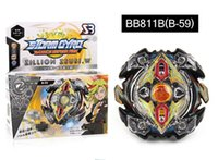 Wholesale rapidity toys beyblade resale online - 4D Beyblade BB811B Rapidity Metal Speed Spinnin Top Fighting Gyro Starter Set B34 B35 B36 B37 B41 B42 B44 B59 Beyblades Toys for kids
