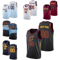 Wholesale jersey basketball name number for sale - Group buy Custom men s basketball jersey Cleveland Cavaliers James Kevin love Any name and number Swingman Jersey