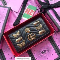 Wholesale black metal evening bag resale online - Yangzizhi3 black animal metal hardware flip wallet Women Long Wallet Chain Wallets Purse Clutches Evening Key Mini Belt Bags
