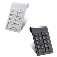 Wholesale wireless auto key resale online - 1pc G Wireless Keypad Ultra Slim Numeric Keypad Keys With Mini USB Receiver Auto Sleep Mode New Pro Numeric Keyboard