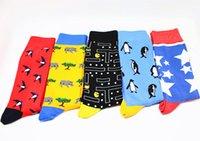ingrosso calzini per animali da compagnia-25 stili in calze di cotone tubo Socks modello animale Dot di alta qualità per grandi ragazzi adolescenti Cotone Moda calzino personalizzato LA130