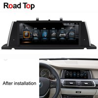 Wholesale android gps car multimedia resale online - 10 quot Resolution Android Multimedia Touch Screen for BMW Series GT F07 Car with Radio GPS Navigation