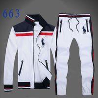 blouson blanc achat en gros de-Sweat-shirt et pantalon de costume à capuchon et pantalon ensemble complet