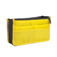 Wholesale hotel cosmetics resale online - Portable Travel Cosmetic Bag Multifunction Storage Store Travel Business Trip Hotel Double Zipper Handbag
