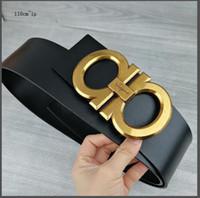 accesorios joker al por mayor-Accesorios de moda Cinturón de cuero para dama de marca internacional Cinturón de joker simple Tamaño grande casual cuero de vaca puro