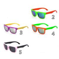 Wholesale brand sunglasses for kids for sale - Group buy 6 options Reflective Kids Sunglasses Brand Designer Sun Glasses for Children Boys Girls Fashion Eyewares Oval UV Eyewares Gafas de Sol