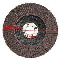 Wholesale plastic polishing wheels resale online - 1Pc100mm Flap Sanding Disc Grit Angle Grinder Polishing Wheel Ideal for Use On Wood Metal And Plastic Sanding Disc