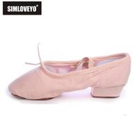 995d34fc0b Wholesale pump heels red soles for sale - Designer Dress Shoes SIMLOVEYO  Women dance soft sole