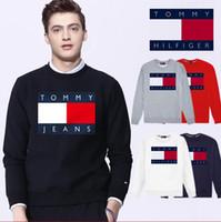 ingrosso maglione bandiera delle donne-2019 nuovo marchio nazionale bandiera donna uomo felpa uomo donna maglione con cappuccio manica lunga pullover streetwear moda sweatershirt