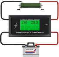 Wholesale digital voltmeter dc power supply resale online - Car Battery Testers digital DC voltmeter ammeter voltage meter capacity volt current wattmeter detector power supply tester