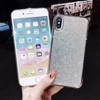 Wholesale bling full diamond case iphone for sale – best Bling Diamond Case For iphone Plus X XS Max XR Full Rhinestone Soft protection Cover Case For iphone S Plus Fundas Coque