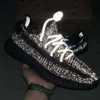 Wholesale lime green black fabric resale online - 2020 Kanye West M Static Running Shoes New Israfil Cinder Desert Sage Earth Tail Light Zebra Womens Mens Trainers Designer Sneakers