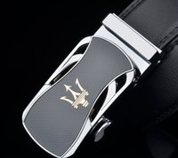 marques ceinture noire achat en gros de-2019 Nouveau Designer Ceintures Hommes De Haute Qualité Marque De Luxe Sangles En Cuir Boucle Épingle Noir Pantalon D'affaires Cinturones Hombre Cinto