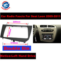 Wholesale seat car stereo for sale - Group buy Double DIN Car Stereo Radio Head Unit GPS Navigation plate panel Frame Fascias for Seat Leon Left Right Hand Driving