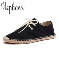холст лодка обуви   оптовых-Stephoes Men Wrap Canvas Shoes Male Espadrilles Fisherman Loafers Boat Driving Shoes Linen Breathable Driving