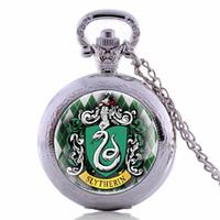 pleine poche en métal achat en gros de-Hot vente Full Metal Alchemist Montre de poche Vintage Steampunk Collier pendentif à quartz Horloge Cadeaux pour Hommes Femmes Enfants